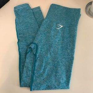 Blue Marl Vital Seamless Legging